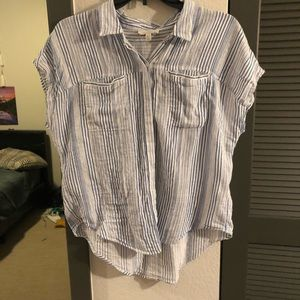 Lucky brand button down blouse!